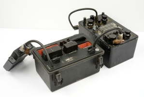 GRA-71 with Keyer attached to the T-784 transmitter