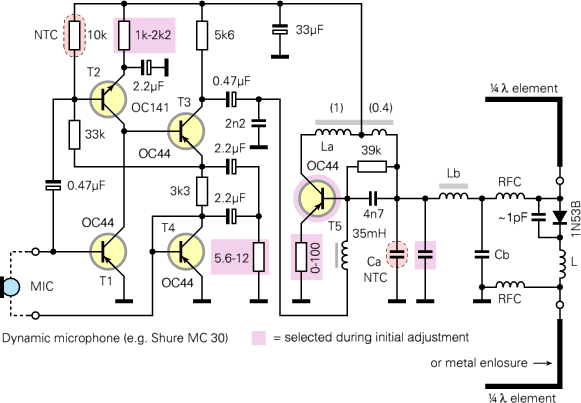 ec vits circuit is based on that of the standard pe, but has been modified to make it more temperature independent