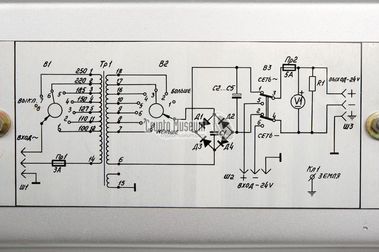 Psu Wiring Diagram Circuit Printed Inside The Top Lid