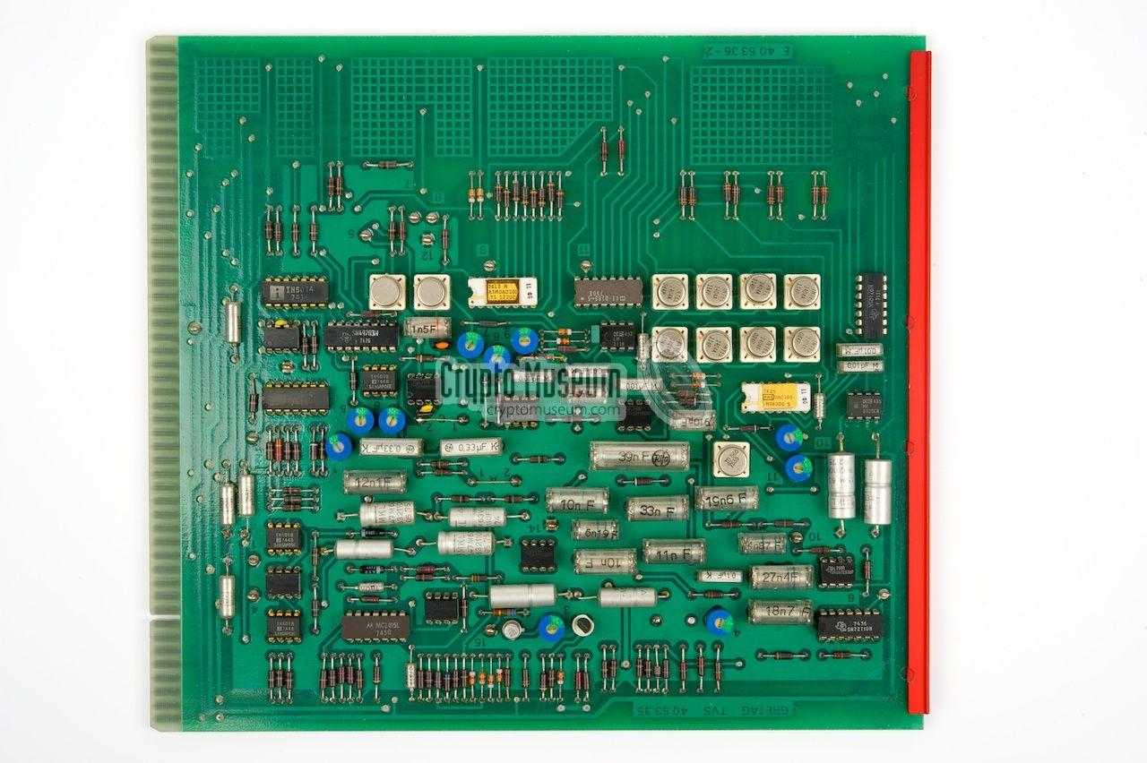 Gretacoder 101 Voice Scrambler Or Descrambler Circuit Diagram Electronic Analogue Memory Board