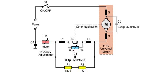 Universal Motor Wiring Diagram