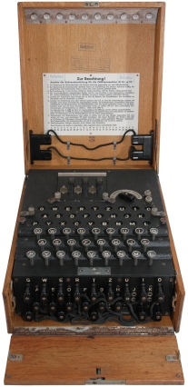 Enigma Machine, click for more information
