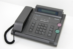 The Philips PNVX, sold by Mils as the Secure Telephone. Click for more information.