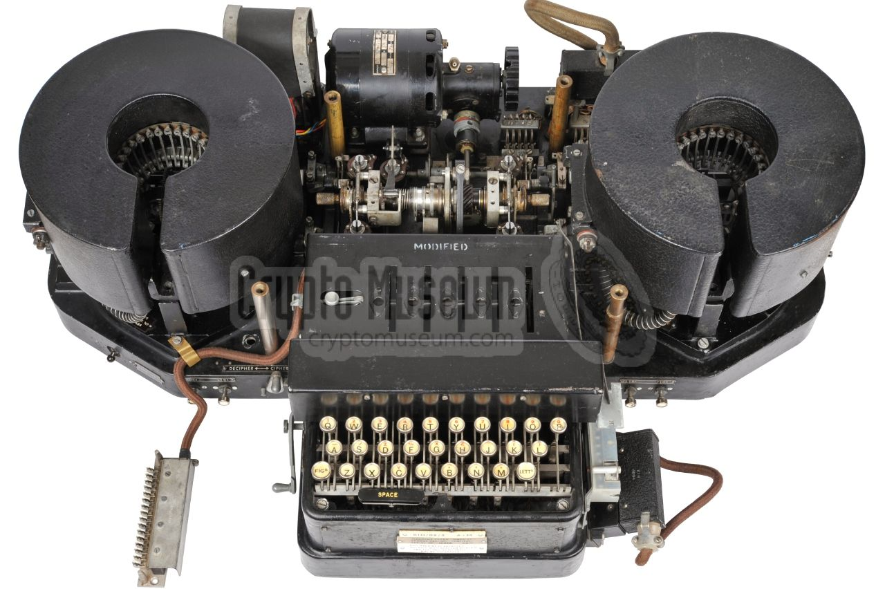 Typex cipher machine used during WWII by the Brish Army