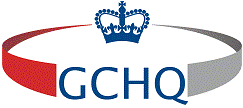 GCHQ logo. Click here for more information about GCHQ.