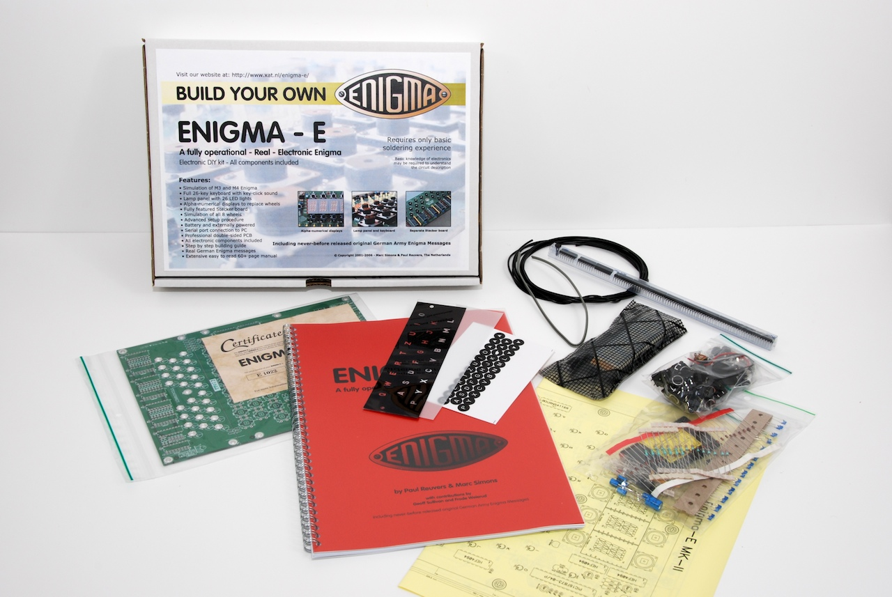 build your own enigma machine