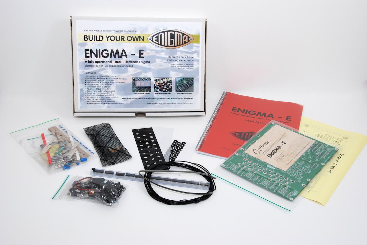 Enigma E Make Your Own Circuit Another View Of The Contents Kit