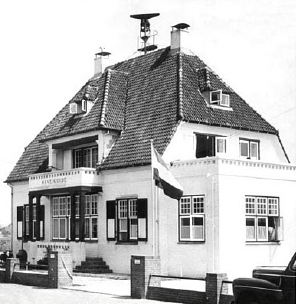 NRP was housed for many years in villa WAVE GUIDE in Noordwijk. Copyright unknown.