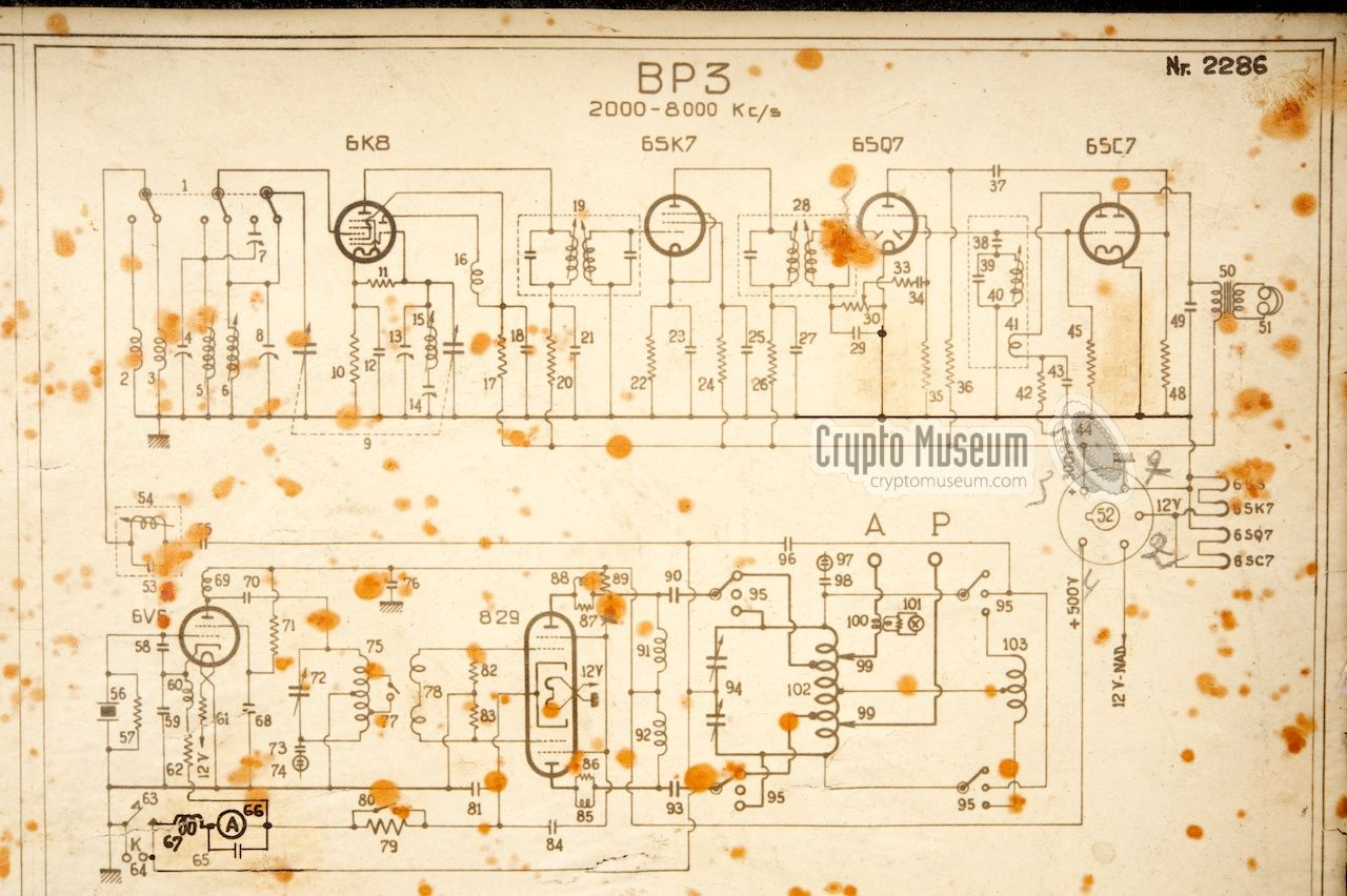 Bp 3 Circuit Diagram Practice In The Was Very Helpful When Had To Be Repaired Field Below Somwehat Deteriorated Original Of Our