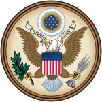 Great Seal of the United States of America. Image via Wikipedia [1].